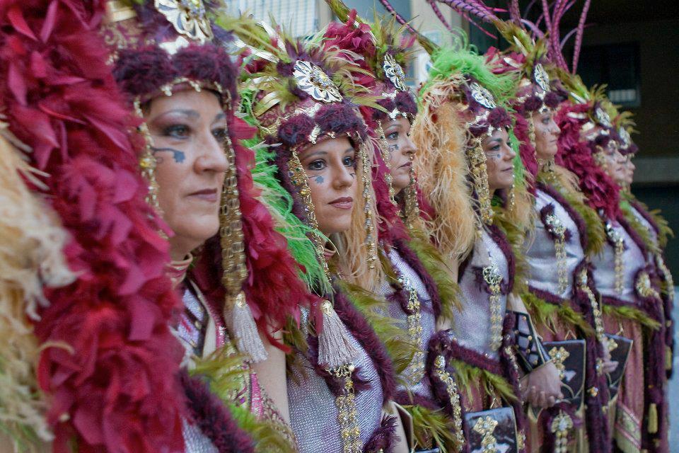 Los Moros y Cristianos de Villafranqueza se celebran del 8 al 19 de Marzo