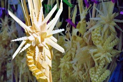 Palma Domingo de Ramos.Palm Sunday palm