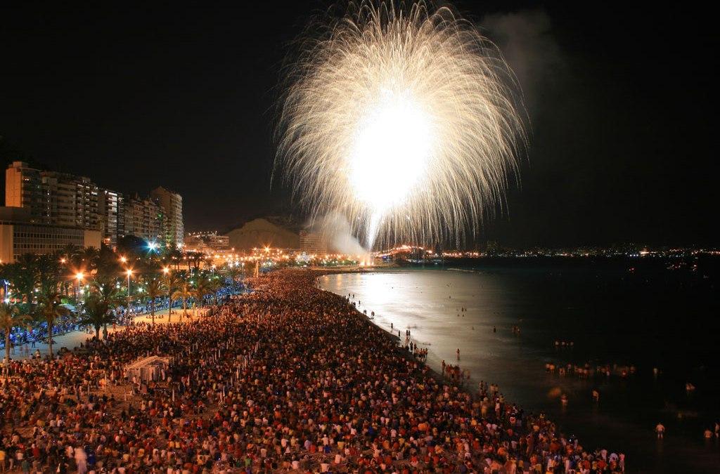 ¿Qué pasa en Alicante durante Les Fogueres de Sant Joan 2016 ?