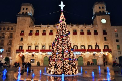 Plaza del Ayuntamiento Navidad/ Square of the City council Christmas