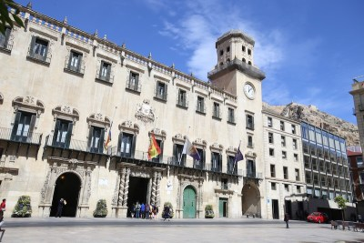 Fachada Principal del Ayuntamiento/ Main façade of the City council