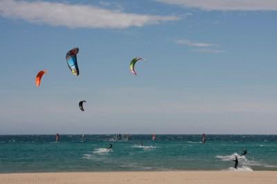 kitesurf en playa de San Juan