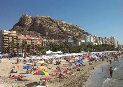 playa postiguet