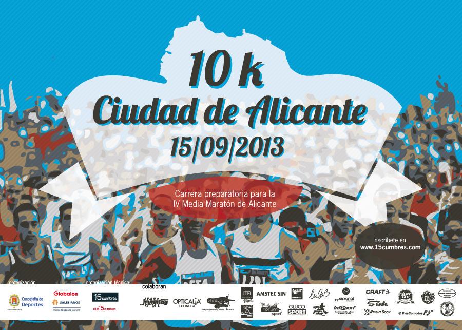 ¡Pon la ciudad a tus pies!! Media Maratón de Alicante