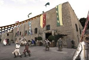 cena medieval castillo