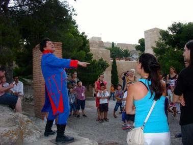 Visitas teatralizadas castillo
