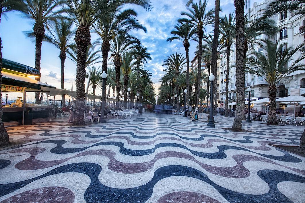 La Explanada de España - ALICANTE City & Beach