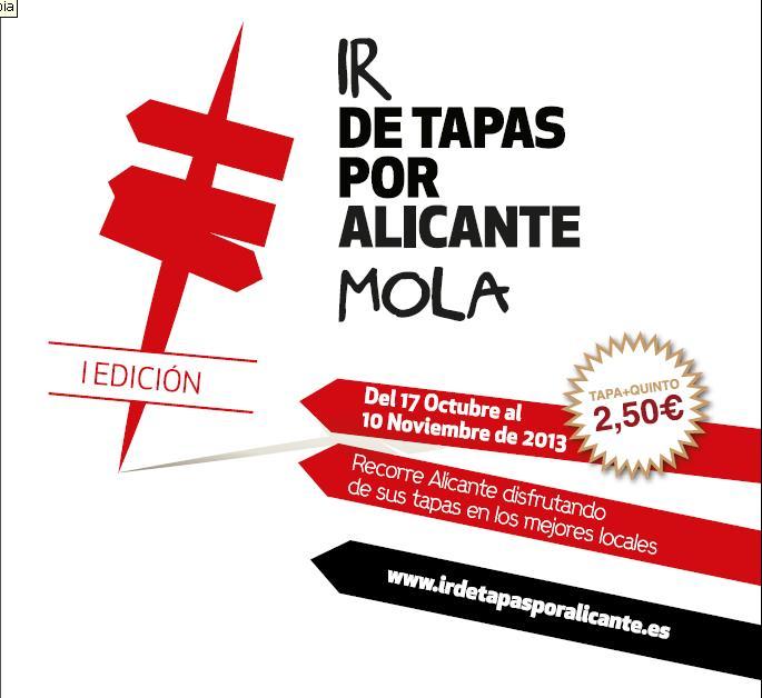 De tapas por Alicante, tapea y vota la mejor