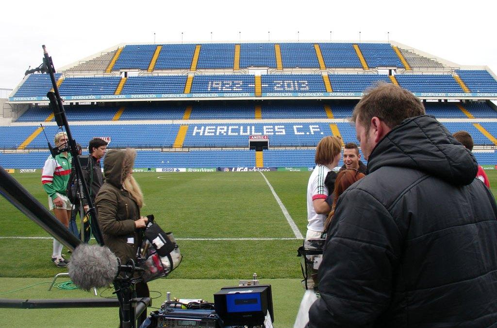 Alicante, escenario para la película 'Shooting for Sócrates'
