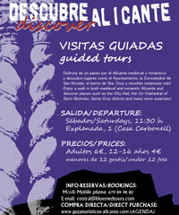 Visita guiada. Guided tour ( Bluemed Tours)