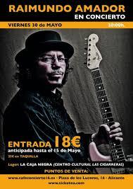 Raimundo Amador en concierto