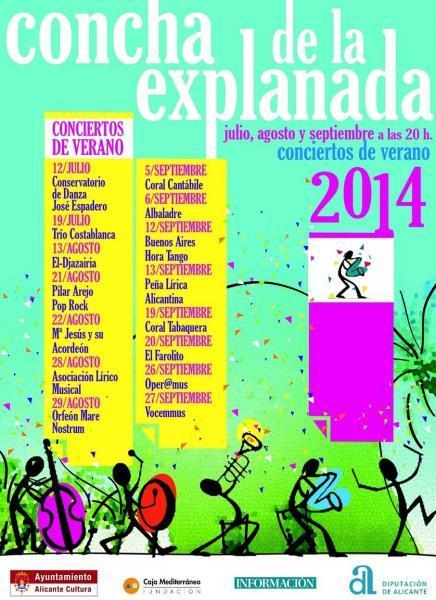 Conciertos líricos en la Concha 2014