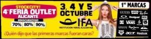 Feria Outlet Stock City Alicante @ RECINTO FERIAL IFA