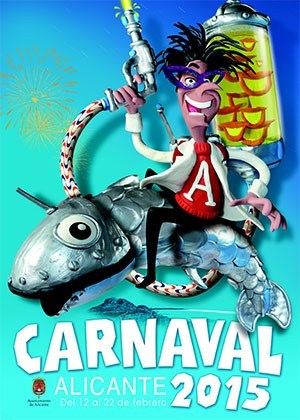 Del 12 al 22 de Febrero vive el Carnaval de Alicante 2015.