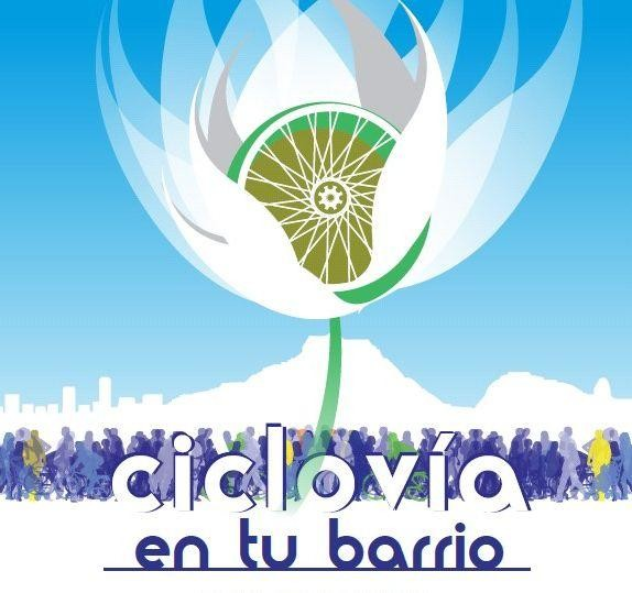 Los domingos Ciclovías en Barrios de Alicante