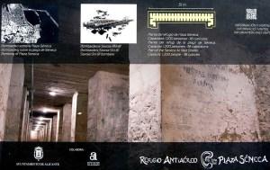 Visita el Refugio Antiaéreo en Plaza Séneca (antigua Estación de Autobuses). Consulta los horarios @ Refugio Antiaéreo Seneca | Alacant | Comunidad Valenciana | España