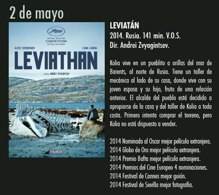 LEVIATÁN en Aula de Cultura de Alicante