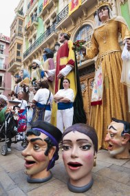 Nanos i Gegants. Fogueres de Sant Joan , Alicante. Autor Borja López