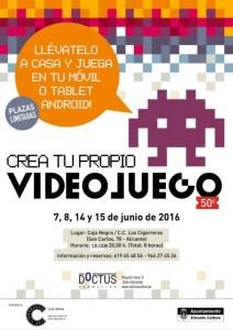 TALLER DE CREACIÓN DE VIDEOJUEGOS EN LAS CIGARRERAS EN JUNIO. CON INSCIRPCIÓN @ Las Cigarreras | Alicante | Comunidad Valenciana | España