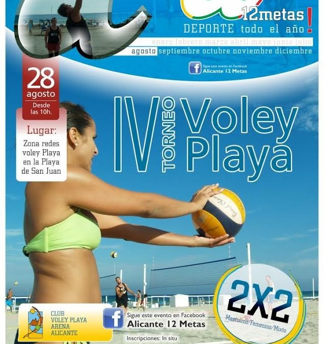 IV Torneo de Vóley Playa