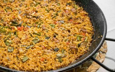 Receta de arroz con magro y verduras