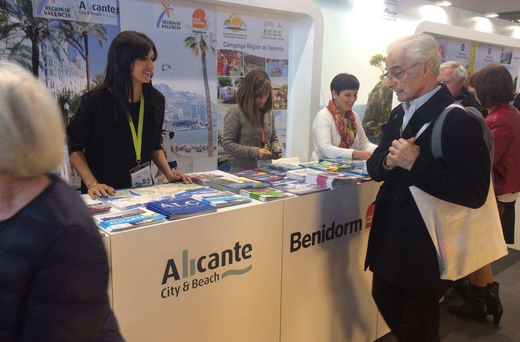 Alicante participa en el Salón Mondial du Tourisme- MAP 2017, la feria turística más importante de Francia