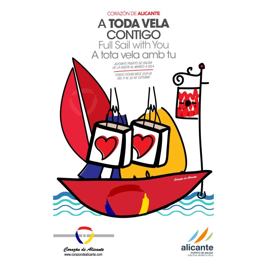 Corazón de Alicante; A toda Vela contigo @ Alicante | Alicante | Comunidad Valenciana | España