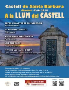 A la LLum del Castell @ Castillo de Santa Bárbara