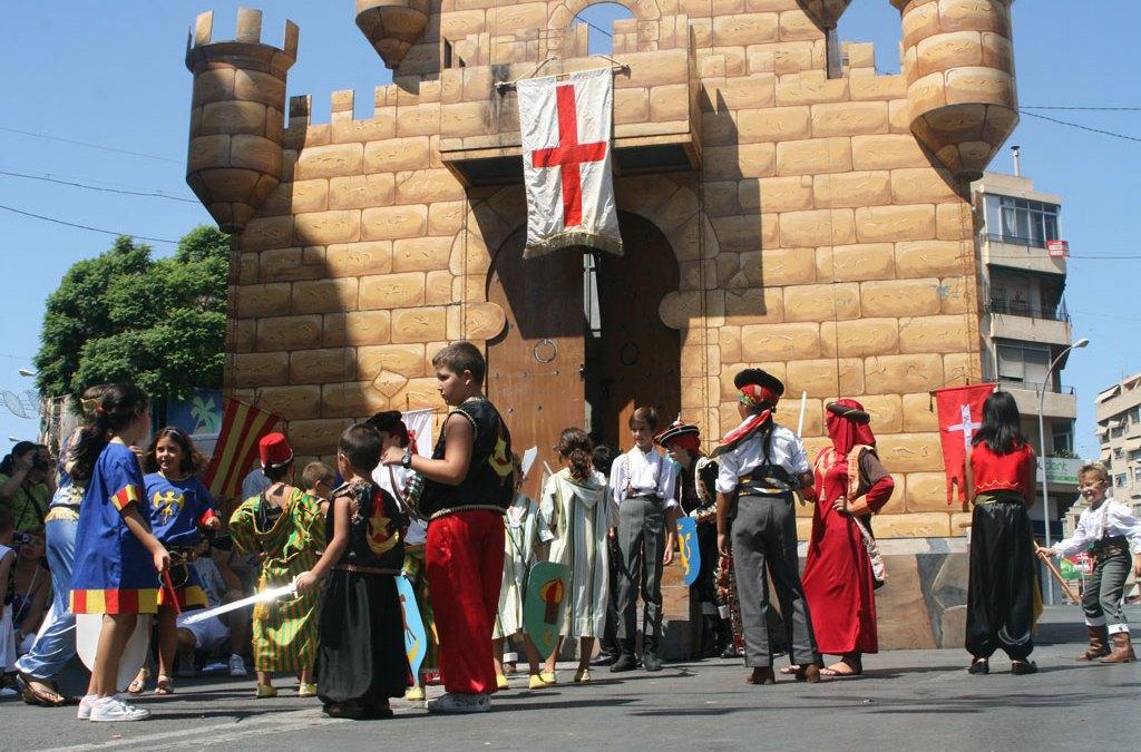 Altozano celebra  sus Fiestas de Moros y Cristianos