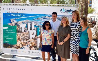 El Patronato Municipal de Turismo y Playas de Alicante presenta sus actividades para celebrar el Día Mundial del Turismo
