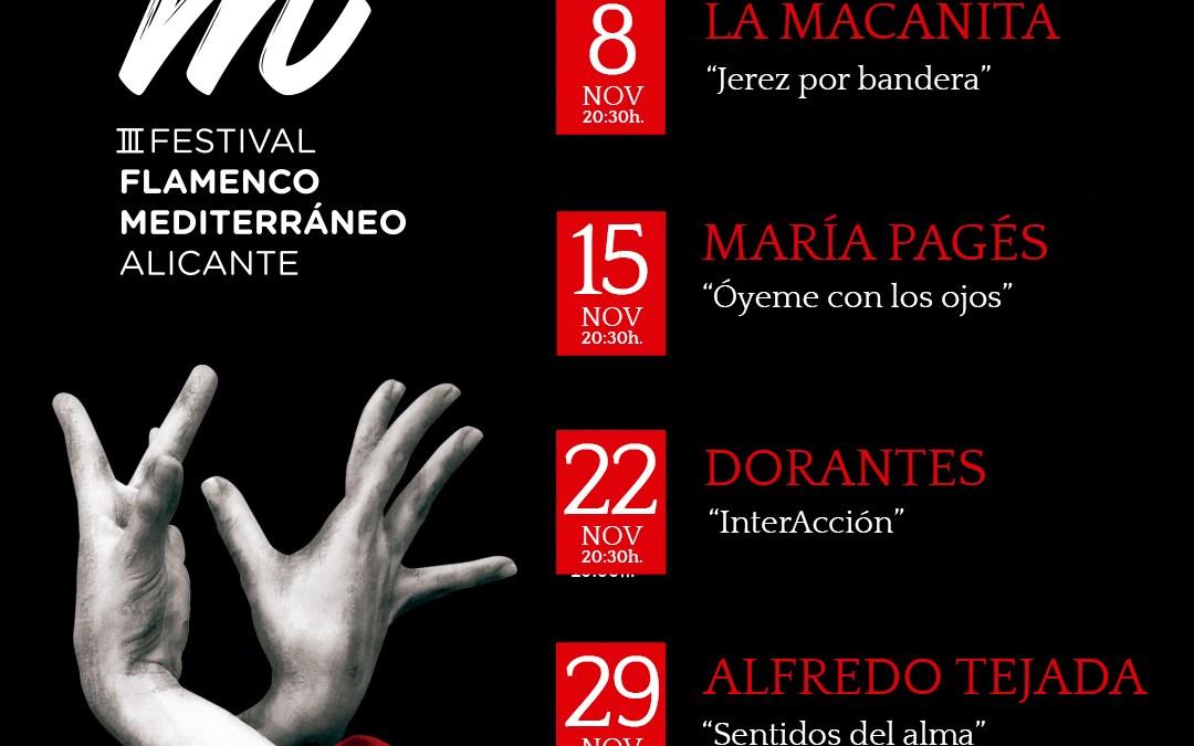 III Festival Flamenco del Mediterráneo en el Aula de Cultura de Alicante
