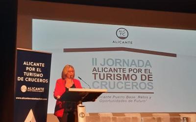 La vicealcaldesa de Alicante inaugura la II Jornada de Alicante por el Turismo de Cruceros