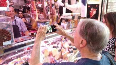 mercado central gastronomóa productos locales