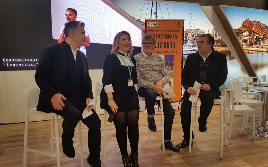 Alicante presenta en Fitur 'Shooting in Alicante' y 'Alicante plató de cine' nuevas secciones del Festival de Cine de Alicante