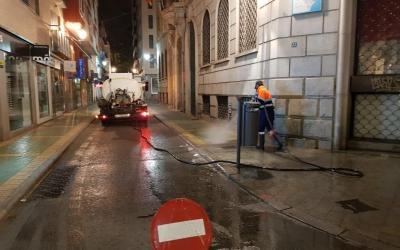 Limpieza de calles COVID 19 ALICANTE