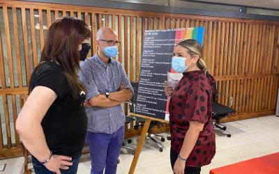 El área LGTBI presenta todos los actos que se celebrarán durante la semana del orgullo en Alicante