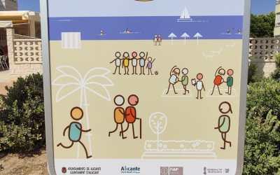 """El Patronato de Turismo se adhiere al proyecto-piloto para convertir a Saladares-Urbanova y La Almadraba en """"Playas sin humos"""""""