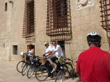 Rutas en bici. Torres de la Huerta