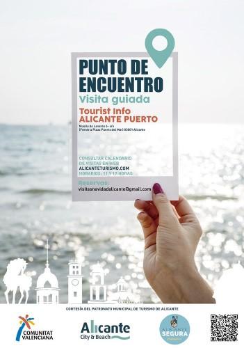 El Patronato Municipal de Turismo y Playas de Alicante te invita a disfrutar de sus visitas guiadas gratuitas durante el mes de diciembre