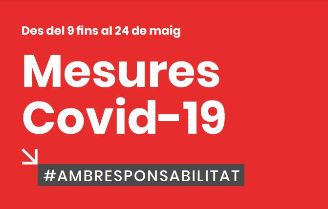 Restriccions CORONAVIRUS ALACANT ( COMUNITAT VALENCIANA) DEL 9 AL 24 DE MAIG DEL 2021