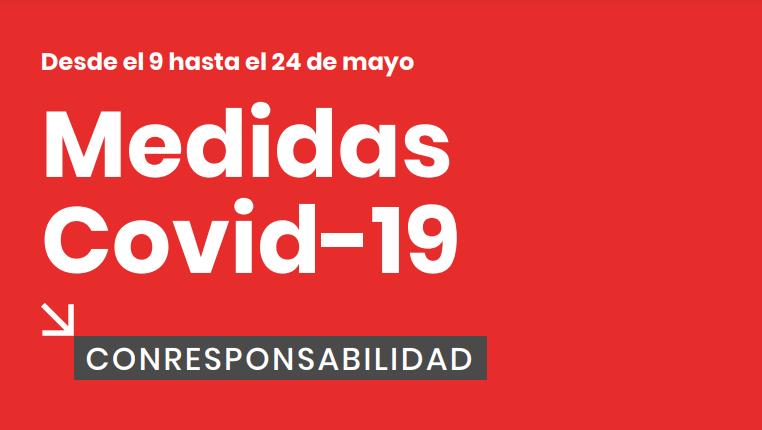Restricciones CORONAVIRUS ALICANTE ( COMUNITAT VALENCIANA) DEL 9 AL 24 DE MAYO DE 2021