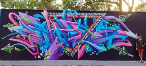 Ruta de arte urbano Barrio de Campoamor @ BARRIO DE CAMPOAMOR | Alicante (Alacant) | Comunidad Valenciana | España