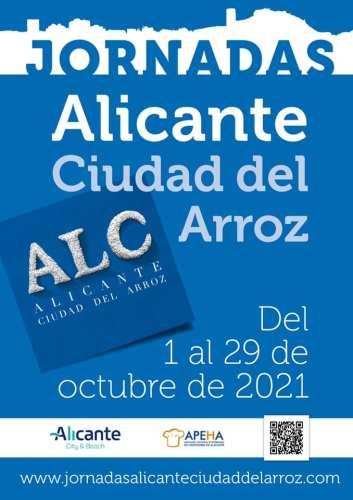 JORNADAS ALICANTE CIUDAD DEL ARROZ @ Diferentes ubicaciones | Alicante (Alacant) | Comunidad Valenciana | España