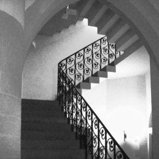 Treppenhaus der Thomaskirche zu Erfurt