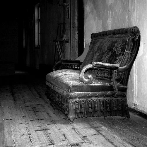 Das Sofa in der Mühle