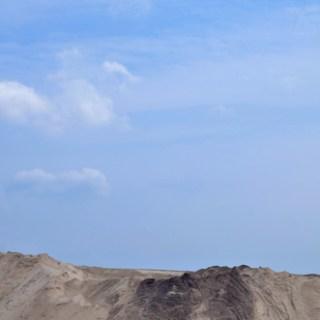 Tagebau Jänschwalde-Himmel und Sand