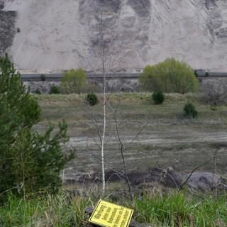 Tagebau Jänschwalde-Warnung