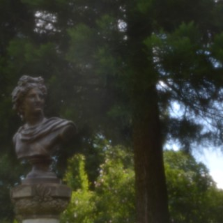 Rosarium Sangerhausen - Büste [PinHoleLens]