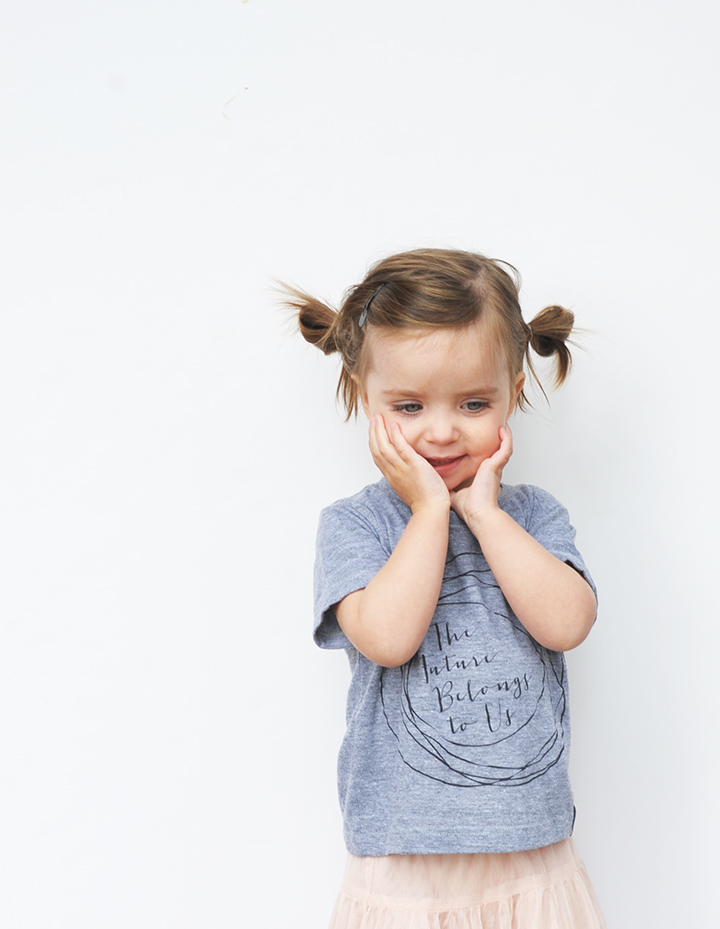 The cutest tee from Badger + Rue for kids