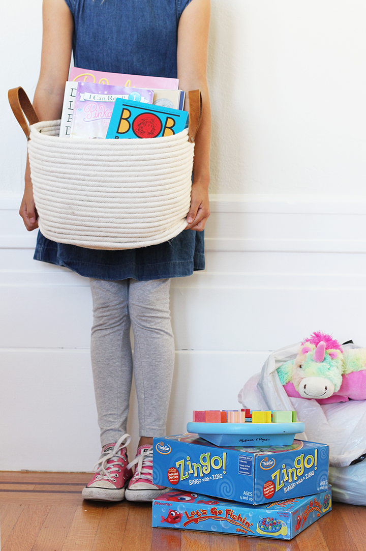 Start a birthday tradition with your child and donate their outgrown clothes and toys.